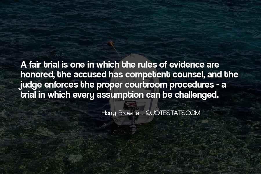 Courtroom Trial Quotes #1188387