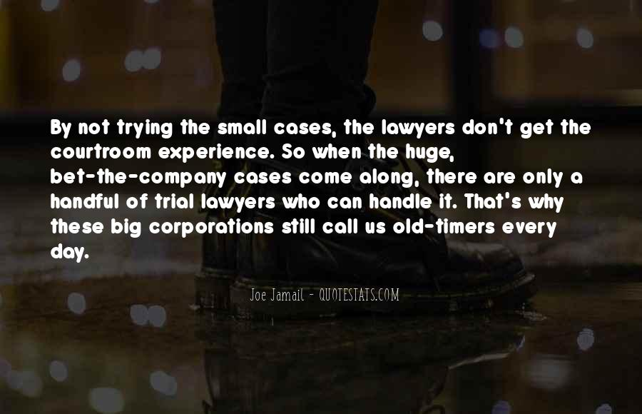 Courtroom Trial Quotes #1253363
