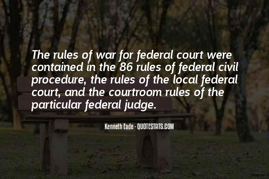 Courtroom Trial Quotes #301889