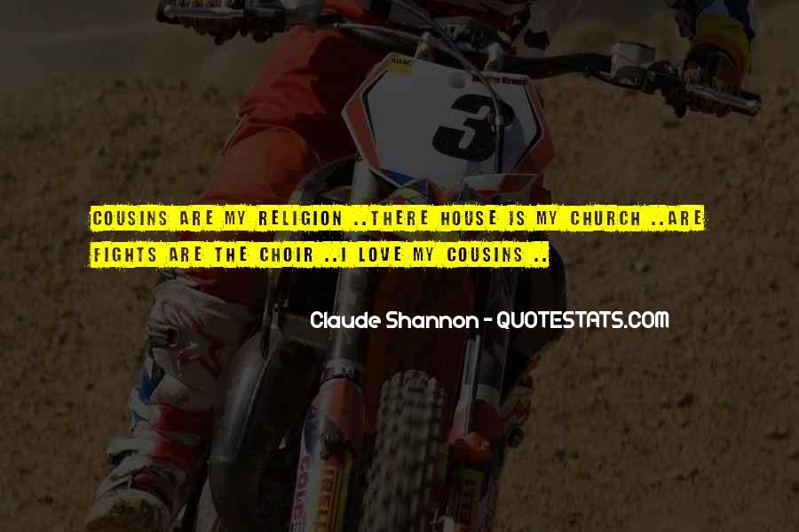 Cousins Love Quotes #1564331