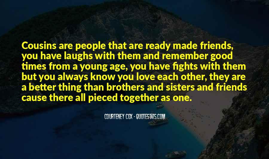 Cousins Love Quotes #215337