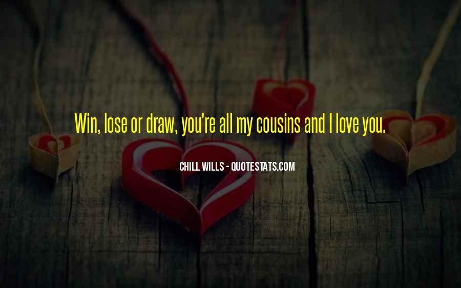 Cousins Love Quotes #980257
