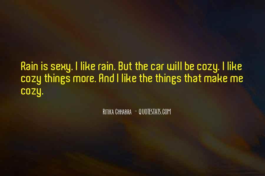 Cozy Rain Quotes #1866058
