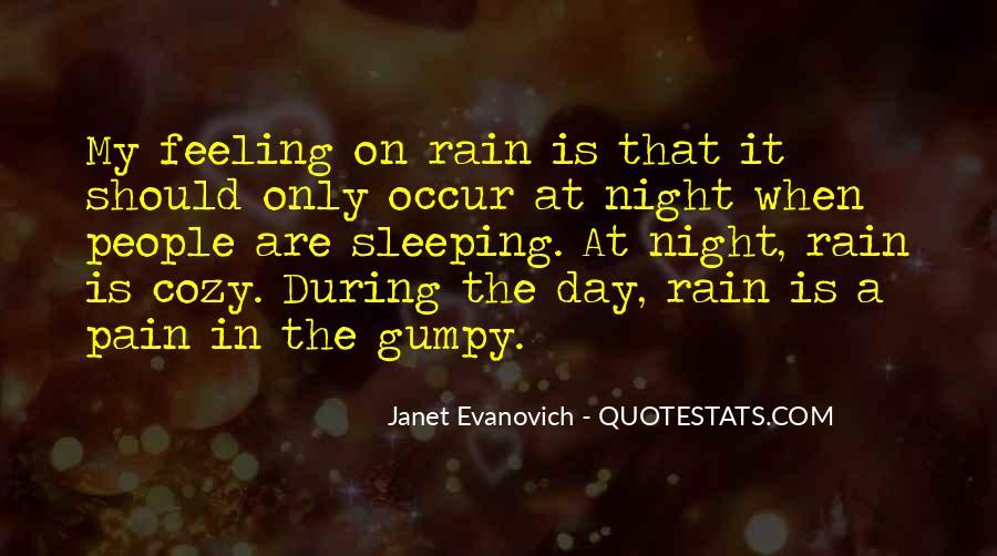 Cozy Rain Quotes #771624