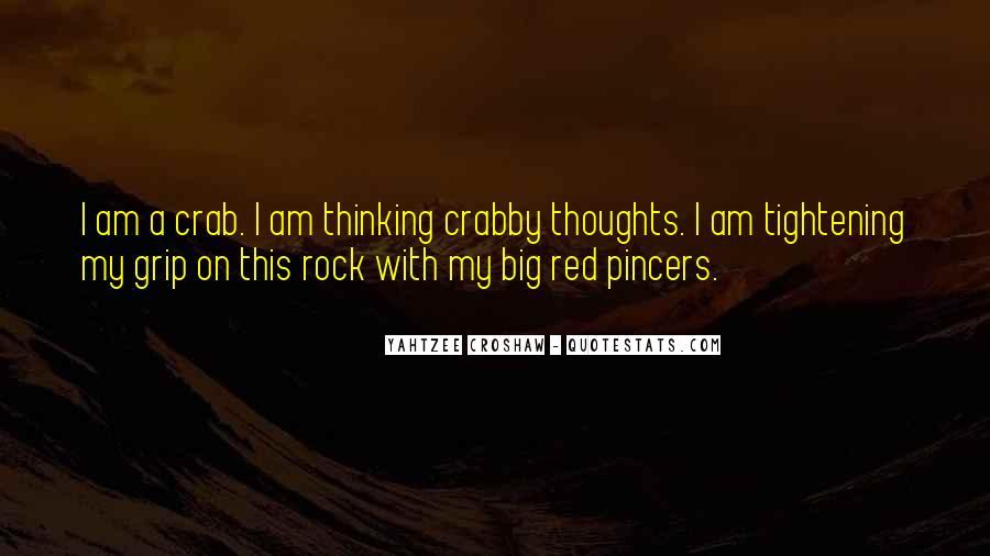 Crab Quotes #1409452