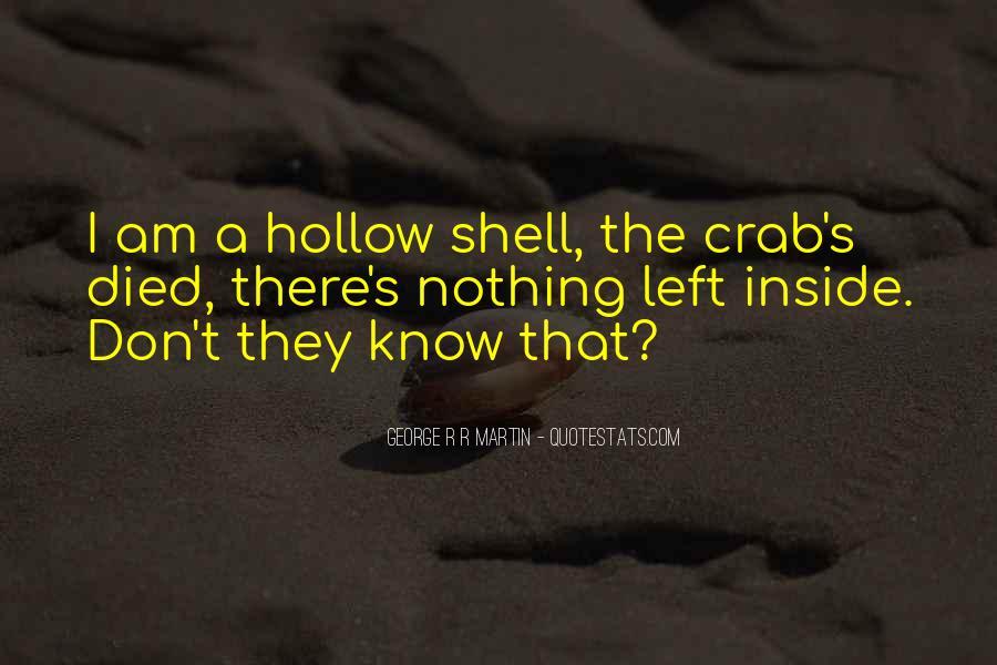 Crab Quotes #321580
