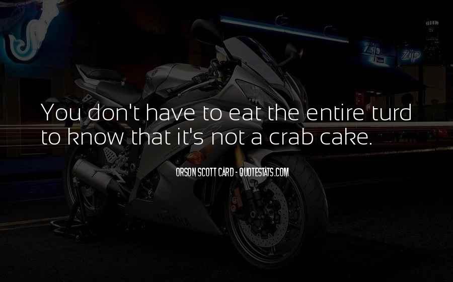 Crab Quotes #767187
