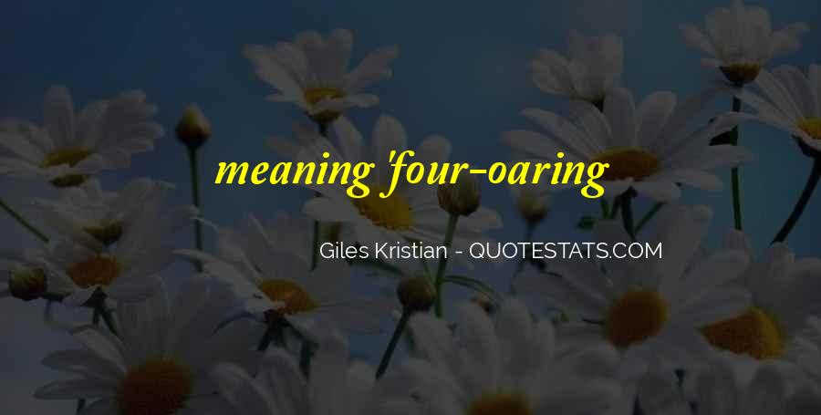 Quotes About Kristian #269037