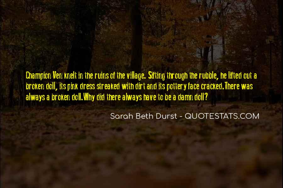 Cracked Doll Quotes #227410