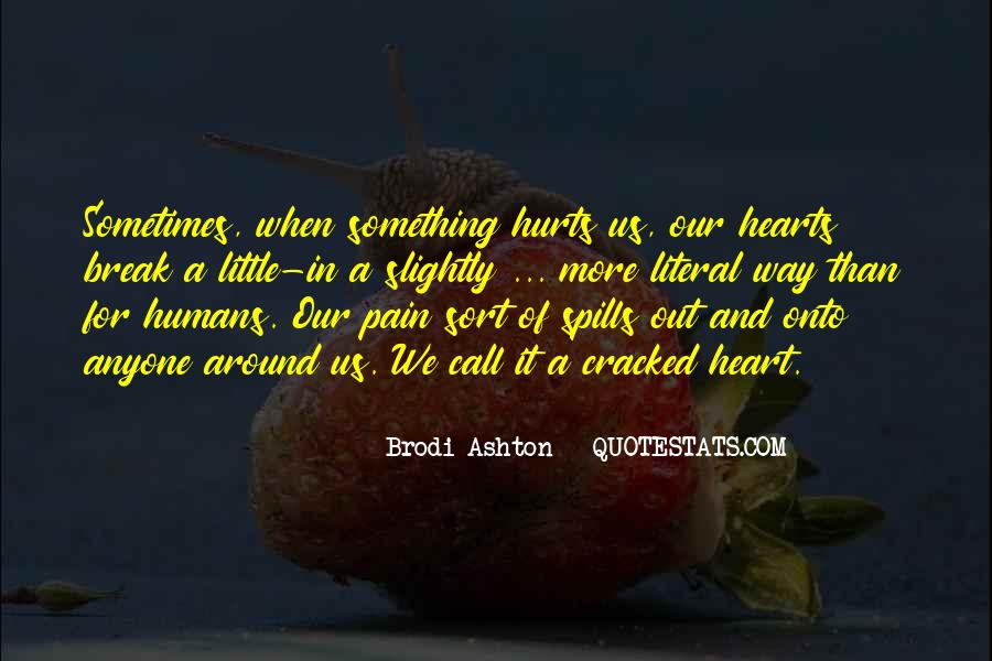 Cracked Heart Quotes #1426447
