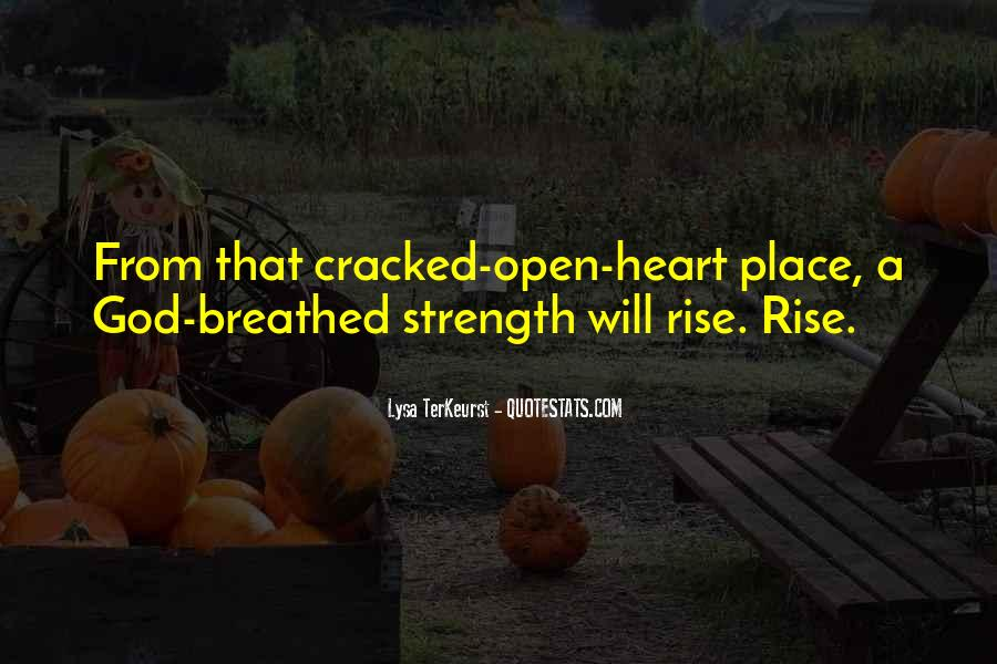 Cracked Heart Quotes #1517585