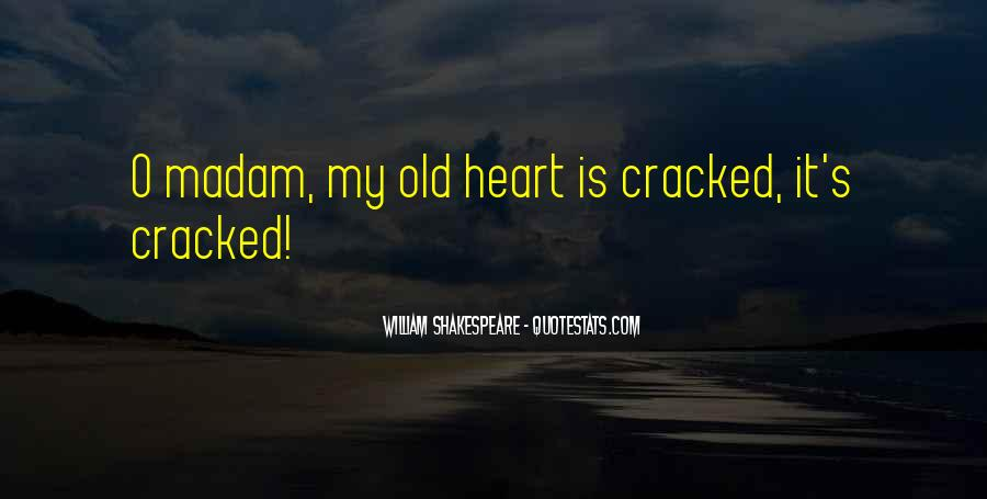 Cracked Heart Quotes #1552181