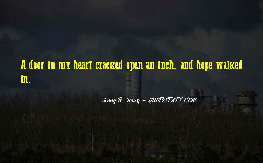 Cracked Heart Quotes #1875247