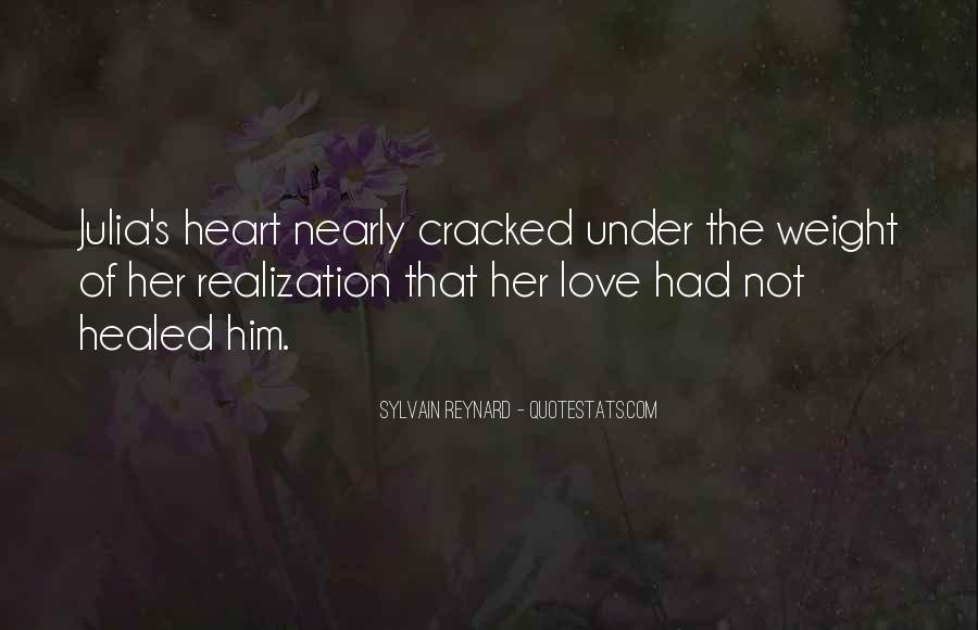 Cracked Heart Quotes #321352