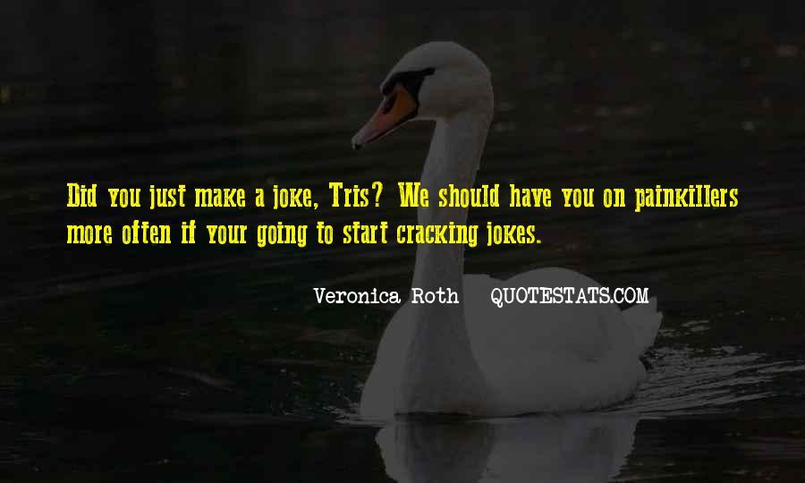 Cracking Jokes Quotes #1591182