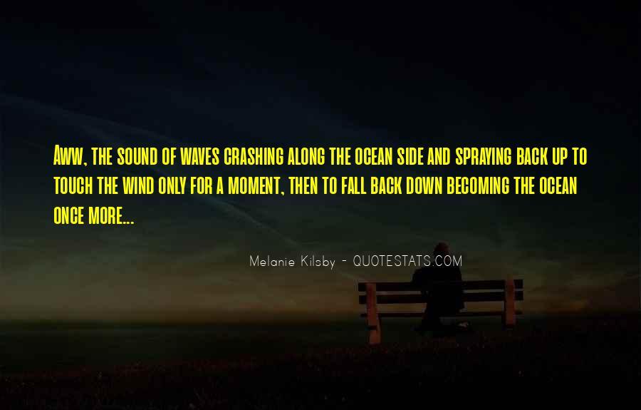 Crashing Back Down Quotes #1820431