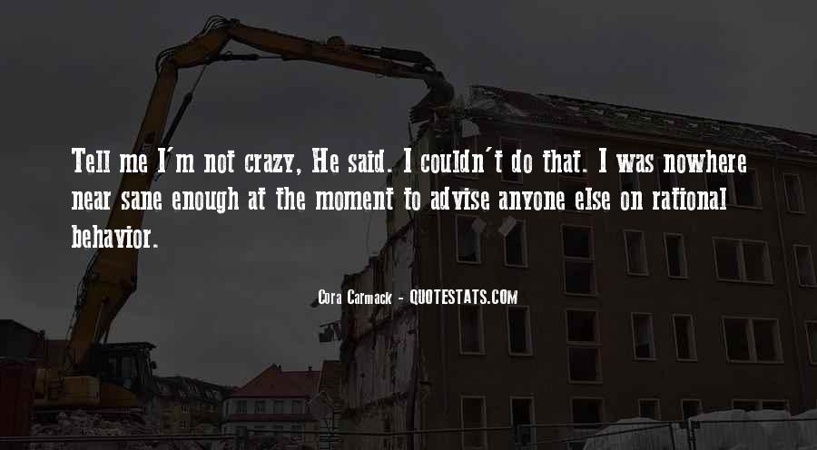 Crazy Cora Quotes #384314
