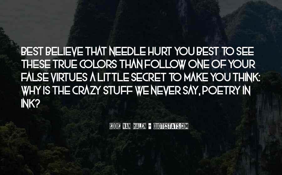 Crazy Make You Think Quotes #1401800