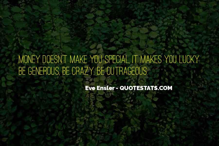 Crazy Make You Think Quotes #179685