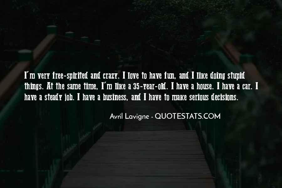 Crazy Make You Think Quotes #184776