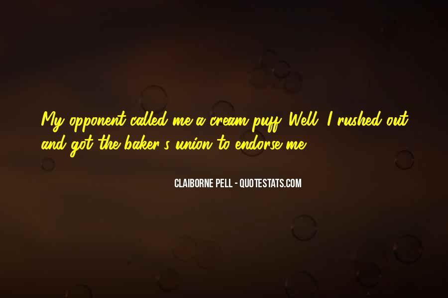 Cream Puff Quotes #918847