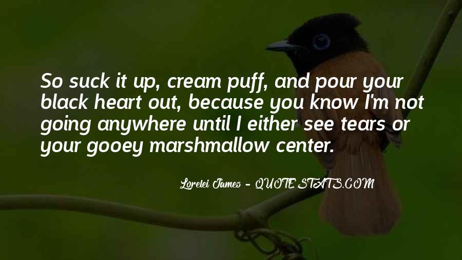 Cream Puff Quotes #984052