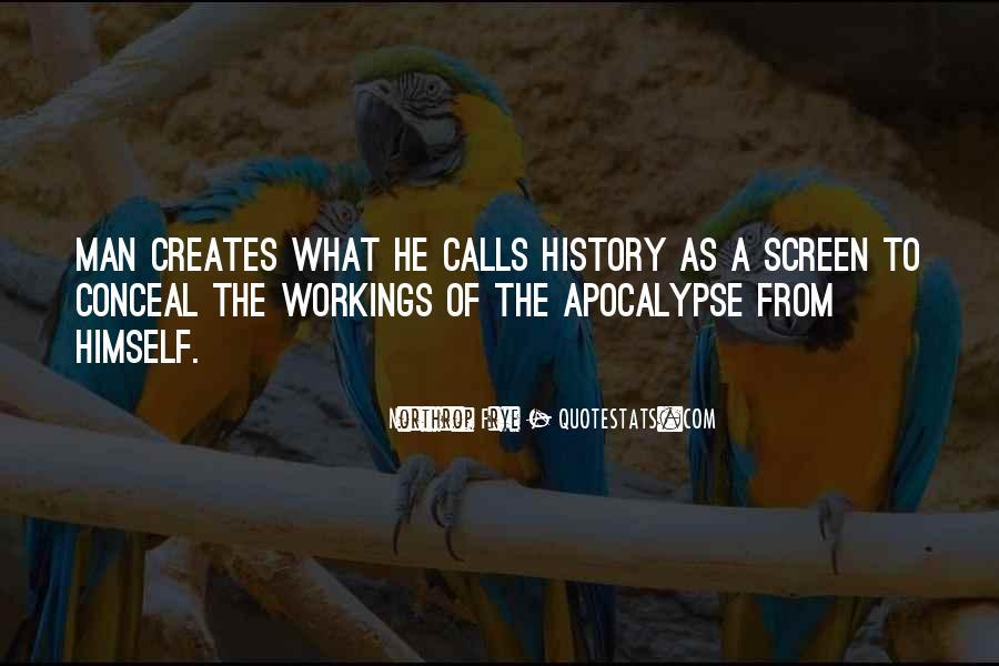Creates History Quotes #1341156