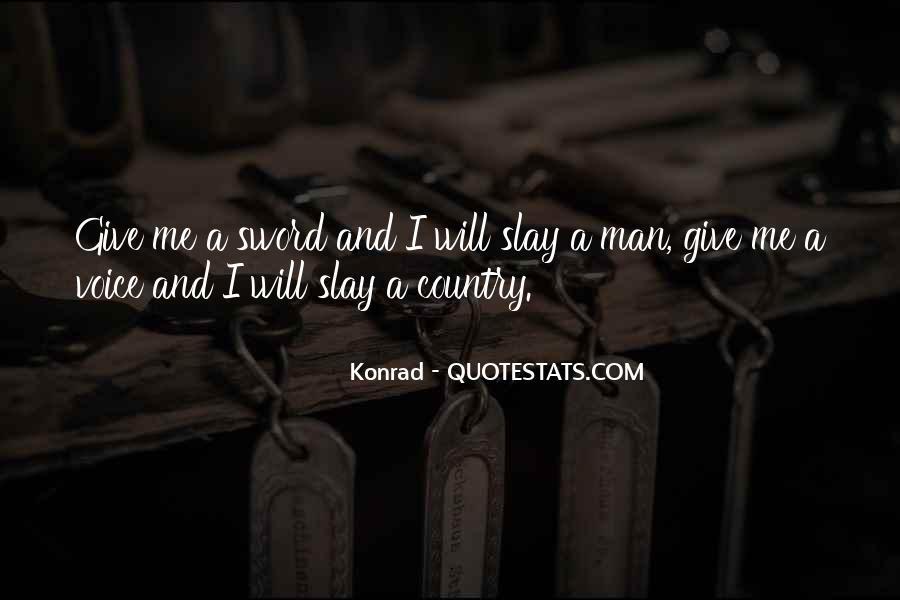 Quotes About Konrad #951624