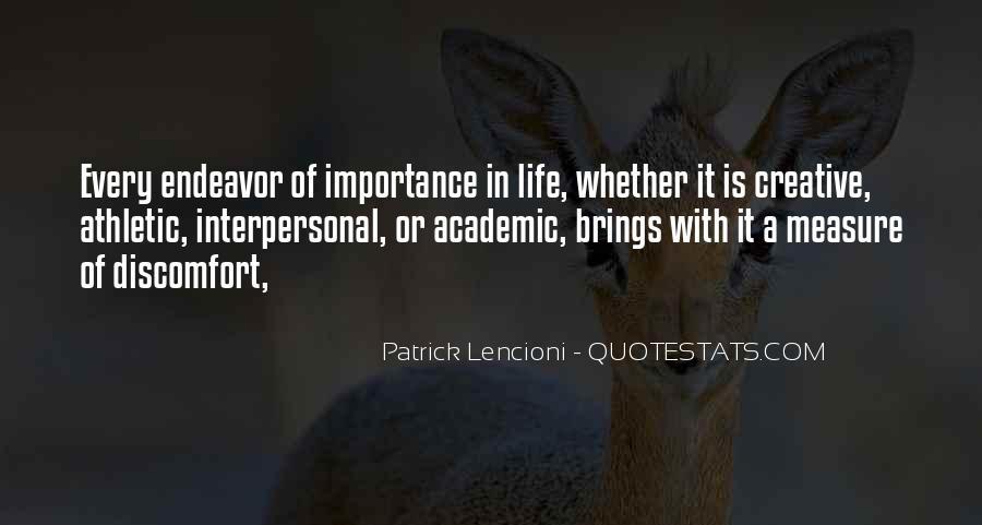 Creative Endeavor Quotes #1254879