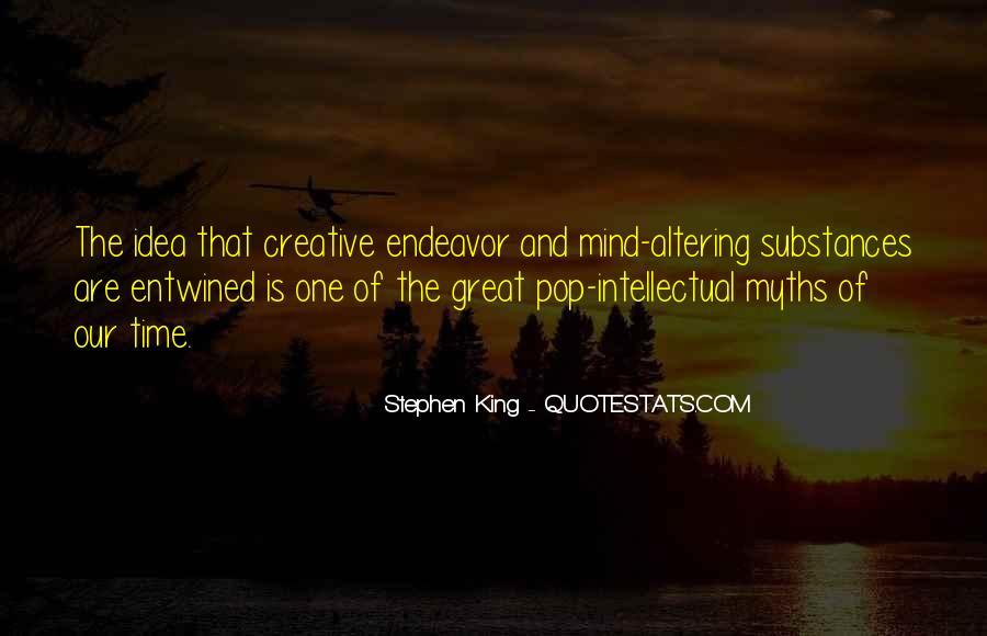 Creative Endeavor Quotes #90870