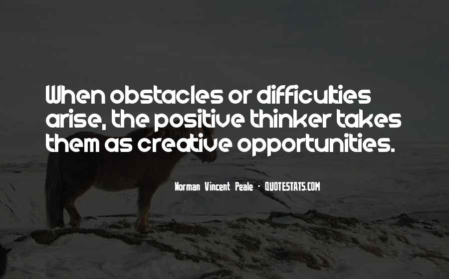 Creative Thinker Quotes #1494960