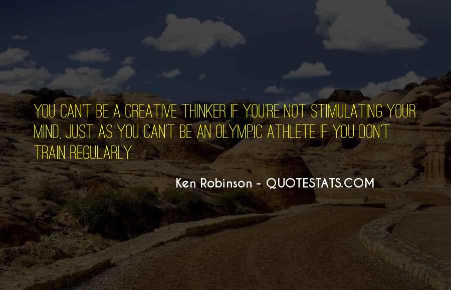 Creative Thinker Quotes #252717