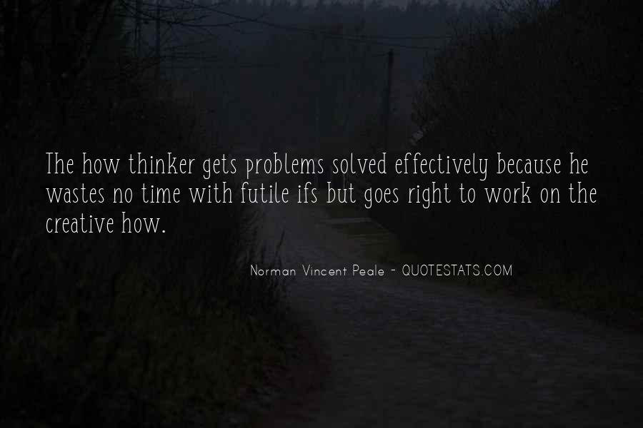 Creative Thinker Quotes #265128