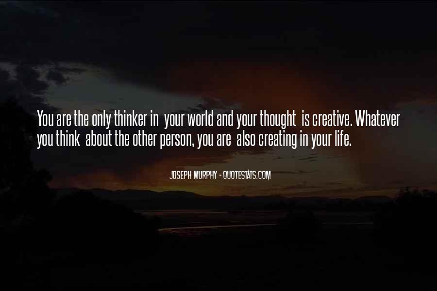 Creative Thinker Quotes #316440
