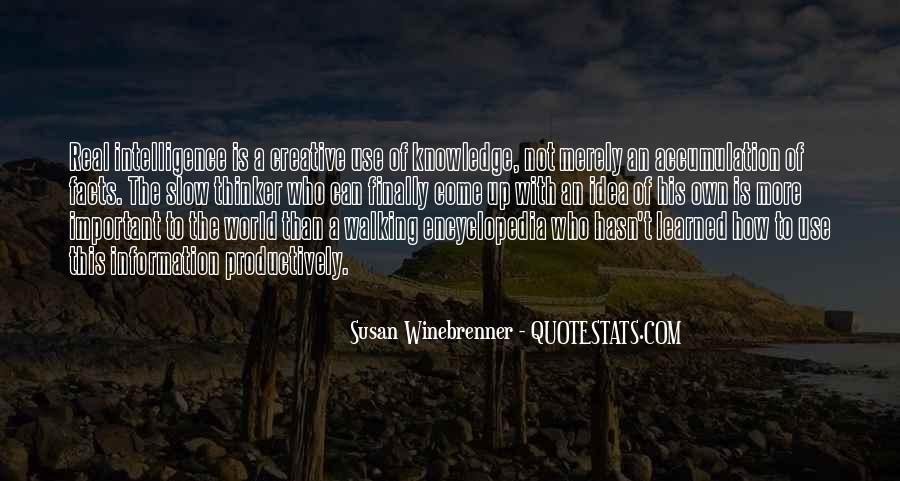 Creative Thinker Quotes #572516