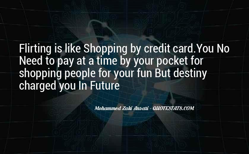 Credit Card Shopping Quotes #1720494