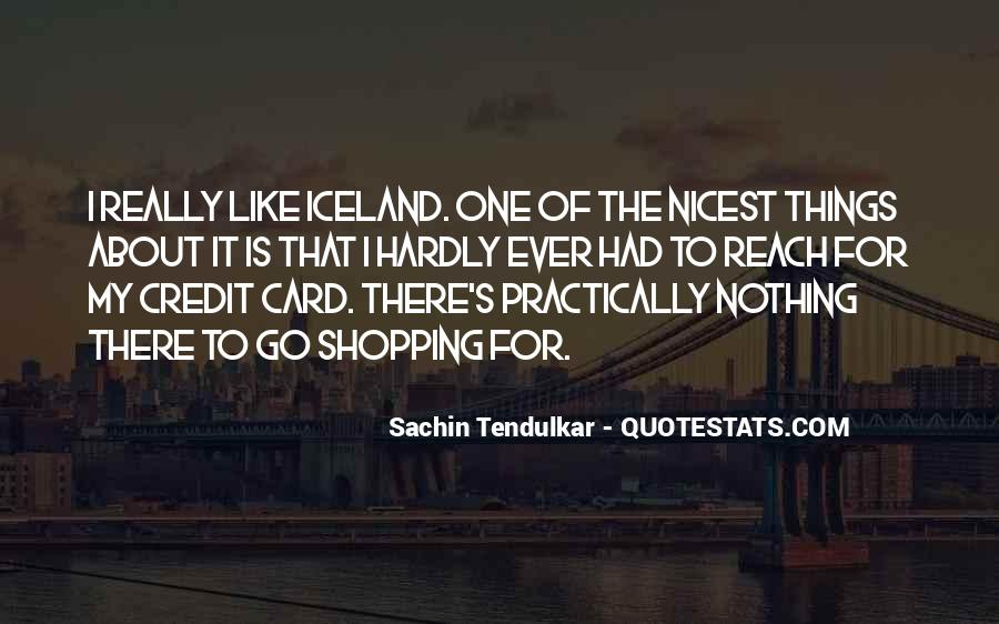 Credit Card Shopping Quotes #1788074