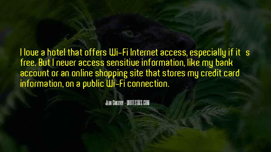 Credit Card Shopping Quotes #216017