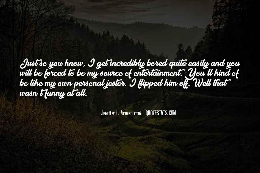 Creepiest Funny Quotes #536889