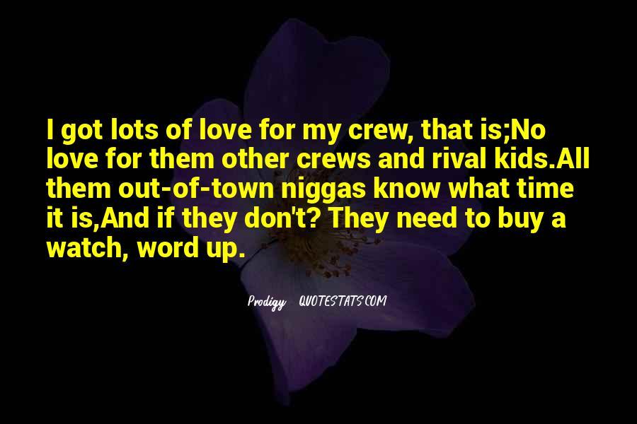 Crew Rap Quotes #121497