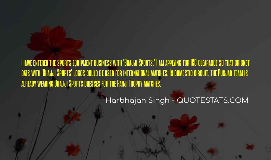 Cricket Trophy Quotes #1074881