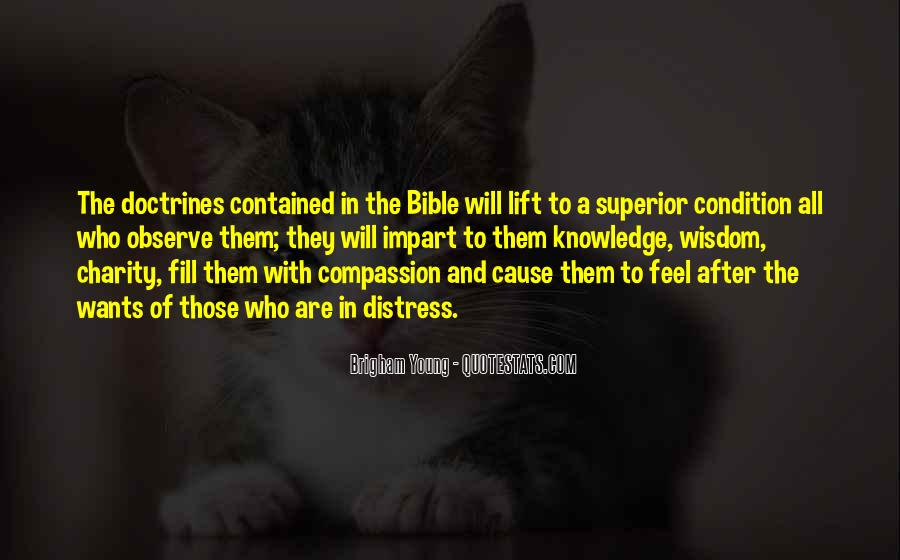 Quotes About Knowledge Bible #1032655