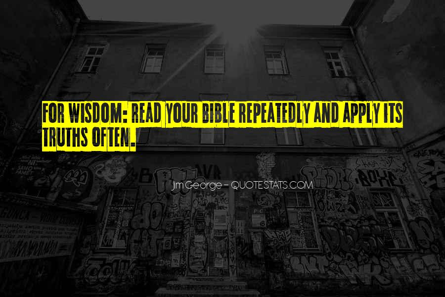 Quotes About Knowledge Bible #1168521