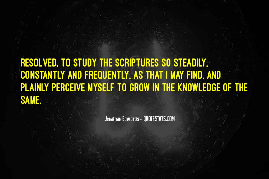 Quotes About Knowledge Bible #1196023