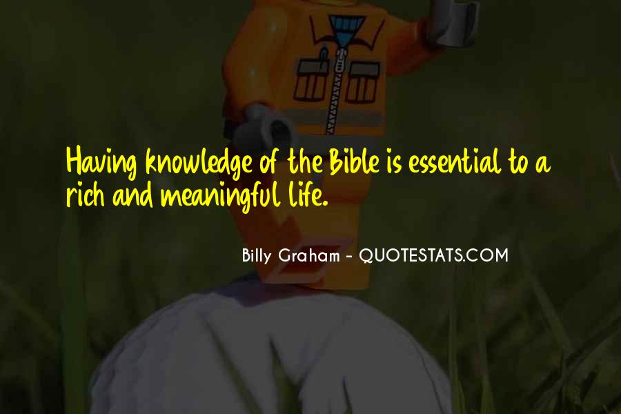 Quotes About Knowledge Bible #1238347