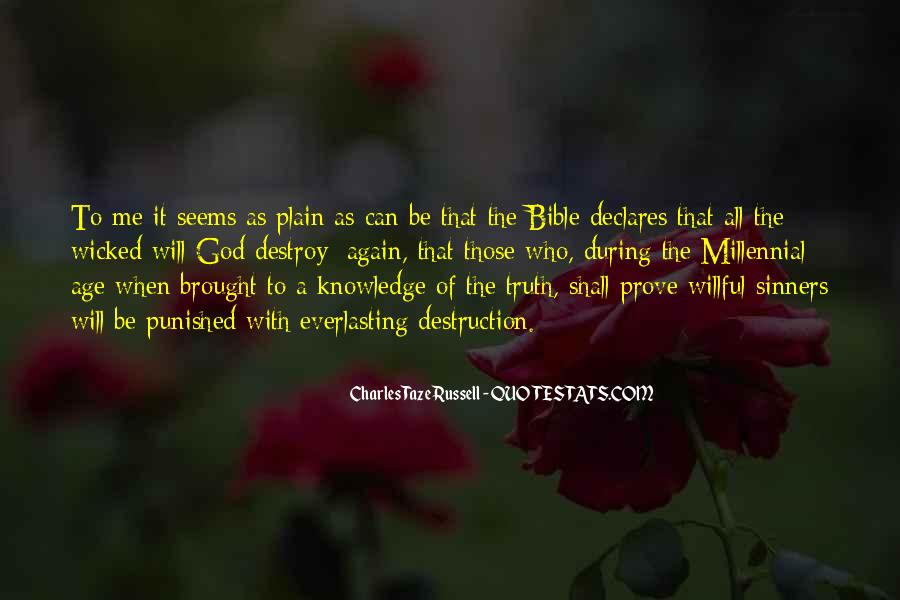 Quotes About Knowledge Bible #1414035