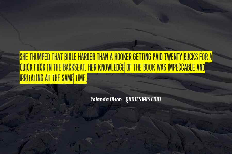 Quotes About Knowledge Bible #1470085