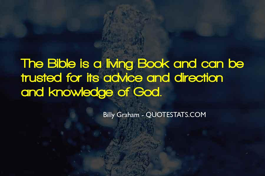 Quotes About Knowledge Bible #1496203
