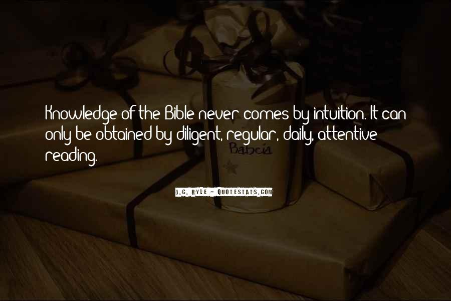 Quotes About Knowledge Bible #1520000