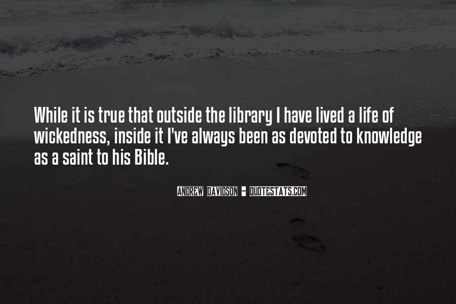 Quotes About Knowledge Bible #1548620